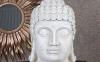 Cap de Budha din polystein