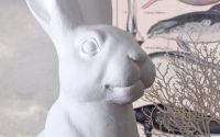Statueta unui iepure