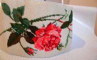 brau centura goblen cu trandafiri