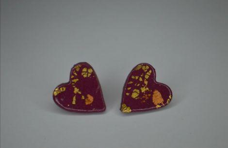 Cercei Hearts - purpure