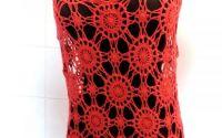 rochie maxi rosie crosetata manual