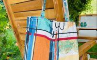Sacosa material textil