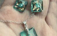 Set de bijuterii din rasina