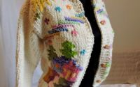 jerseu tricotat manual