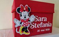 Cutie pentru dar botez fetite Minnie