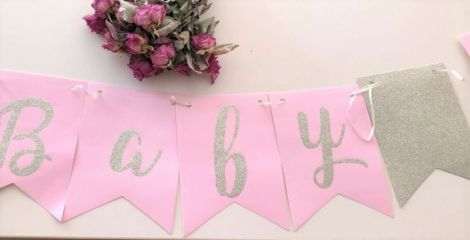 Banner petrecere baby shower