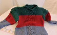 pulover copii tricotat  3 culori