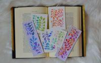 Semne de carte succulente n watercolor