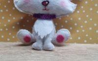 Pisicuta ptr decorat obiecte lumanari marturii