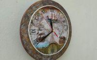 Ceas de perete-Nava Pirat