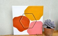 Tablouas pe panza Colour Blocks