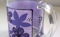 Cana pentru ceai cu floricele