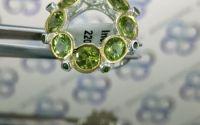 Inel fantezie argint 925 cu peridot