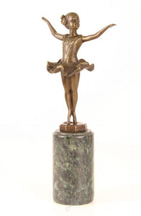 Dansatoare - statueta din bronz