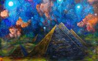 Tablou pictura piramide Giza