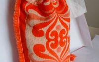 traista portocalie geanta