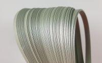 Argintiu metalizat - Hartie quilling 5 mm