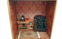 Camera miniaturala cu semineu