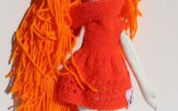 Papusa unicat handmade BabyCaris by Art Republic