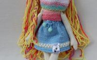 Papusa unicat handmade BabyMadi by Art Republic