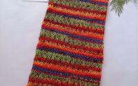 Fular si caciula tricotate manual