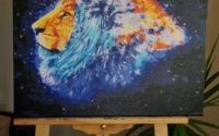 tablou acril Cap de leu