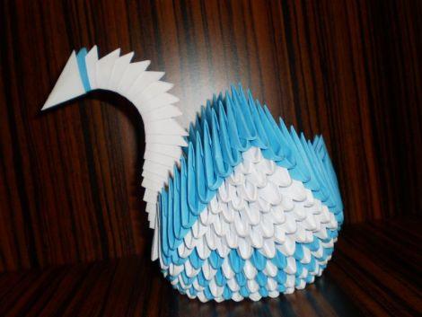 Lebada origami