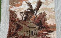 Peisaj cu moara de vant