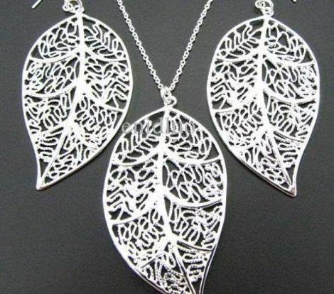 set argint 925 frunza