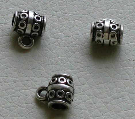 Agatatoare pandantiv argint tibetan - 10x9mm