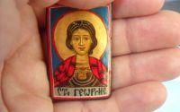 iconita cu Sfintul Gheorghe