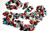 Set multicolor cipsuri si pietre semipretioase