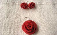 Set trandafiri rosii