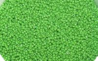Margele Toho R11 -T47 Round-Bright Green Opaque