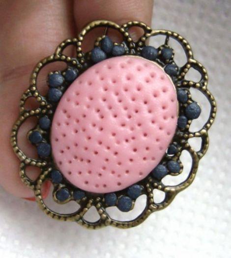 Inel soft pink