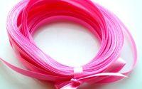 Panglica saten roz - 0.6mm 1m