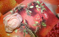 "Inel ""Soft rose"""