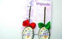 Clopotei violet - agrafa