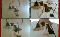 Colier cu modele geometrice