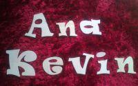 """Litere din lemn font """"Ravie"""""""