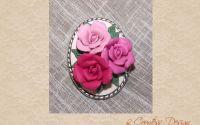 Brosa trandafiri
