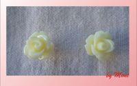 Cercei cu trandafiri