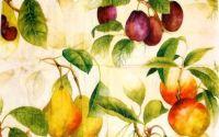Servetel fructe