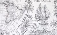 Servetel harta lumii vechi