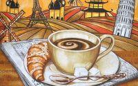 Servetel cafea