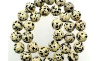 Jasp Dalmatian sferic 6 mm