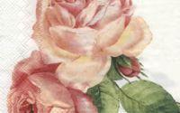 Servetel trandafiri