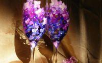 pahare miri hortensii violet