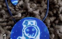 SnowMan- colier si cercei