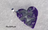 Frozen heart- colier si cercei